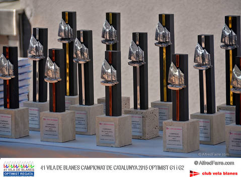 2015/05/30 Lliurament Trofeus Camp.Catalunya Optimist-41 Vila Blanes Optimist Regata