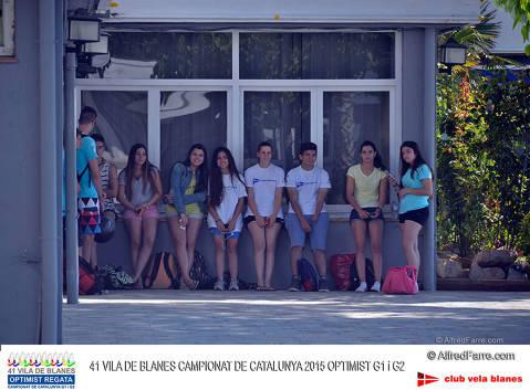 2015/05/31 Vila Blanes optimist Regata-Campionat Catalunya G1 i G2