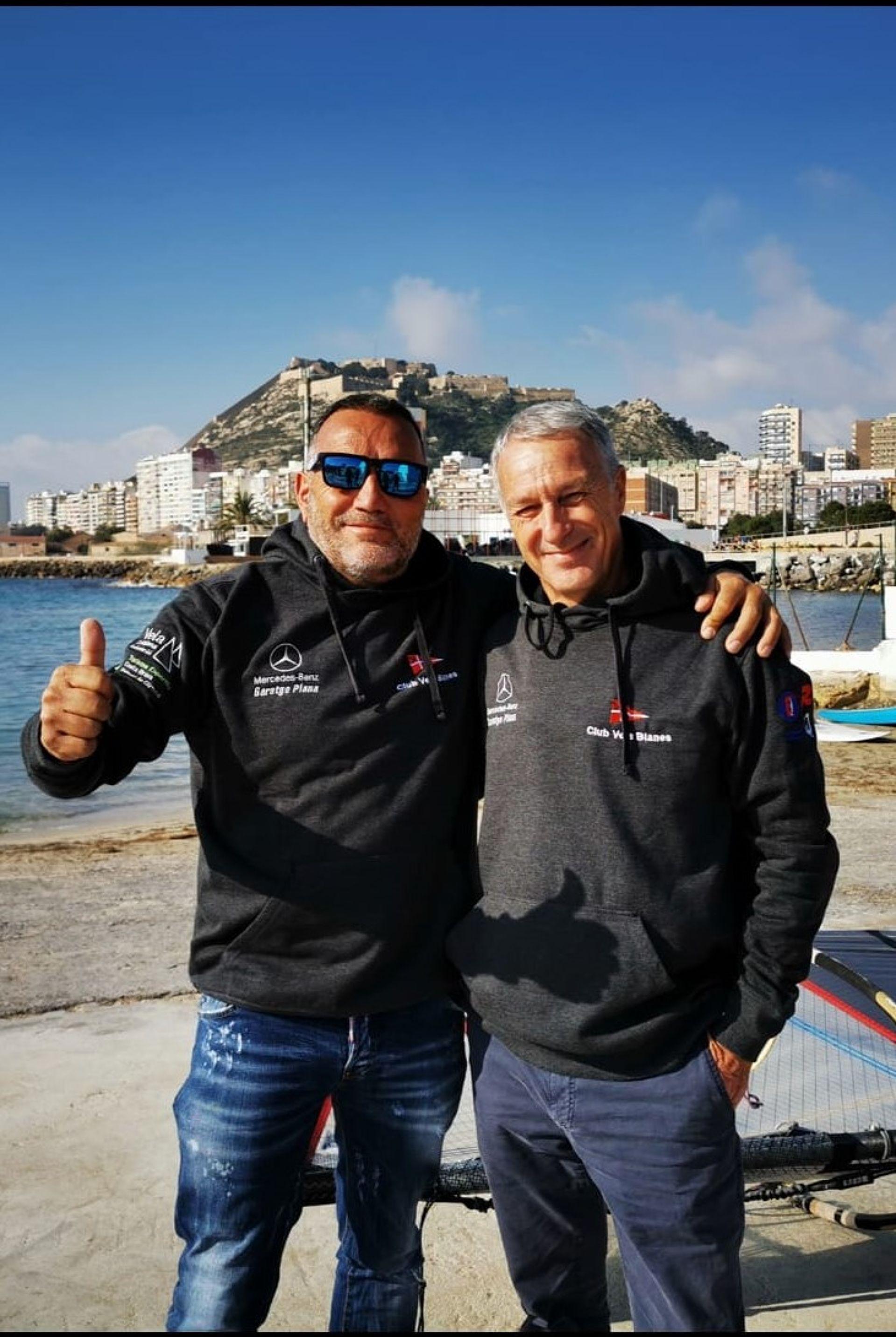 Jordi Bosch primer veterà i Luís Camacho 4rt màster de Raceboard a la VI Comunitat Valenciana Olympic Week