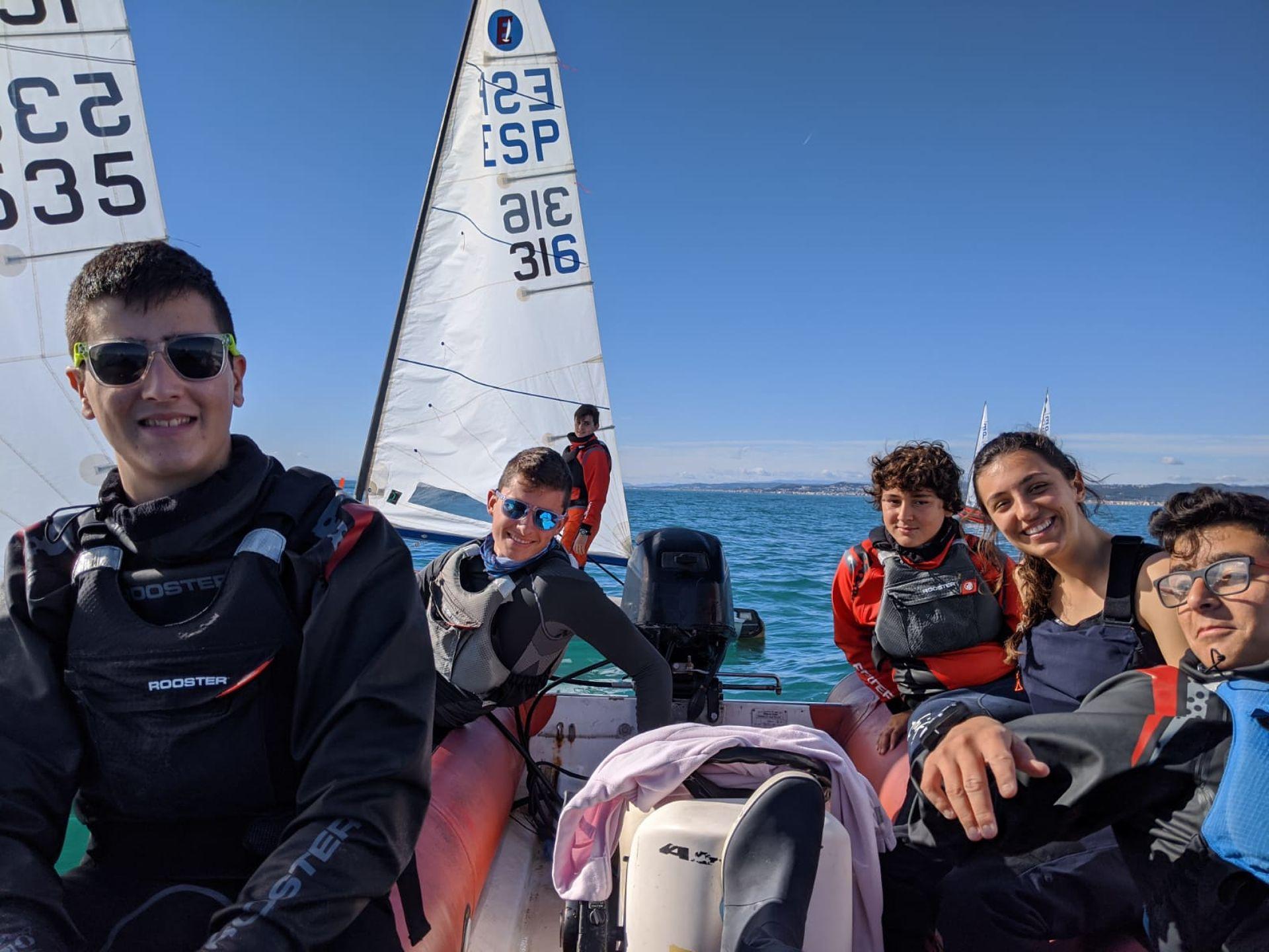 Boronat, Vilariño, Gragera i els germans Manresa participen al Campionat Catalunya classe Europa