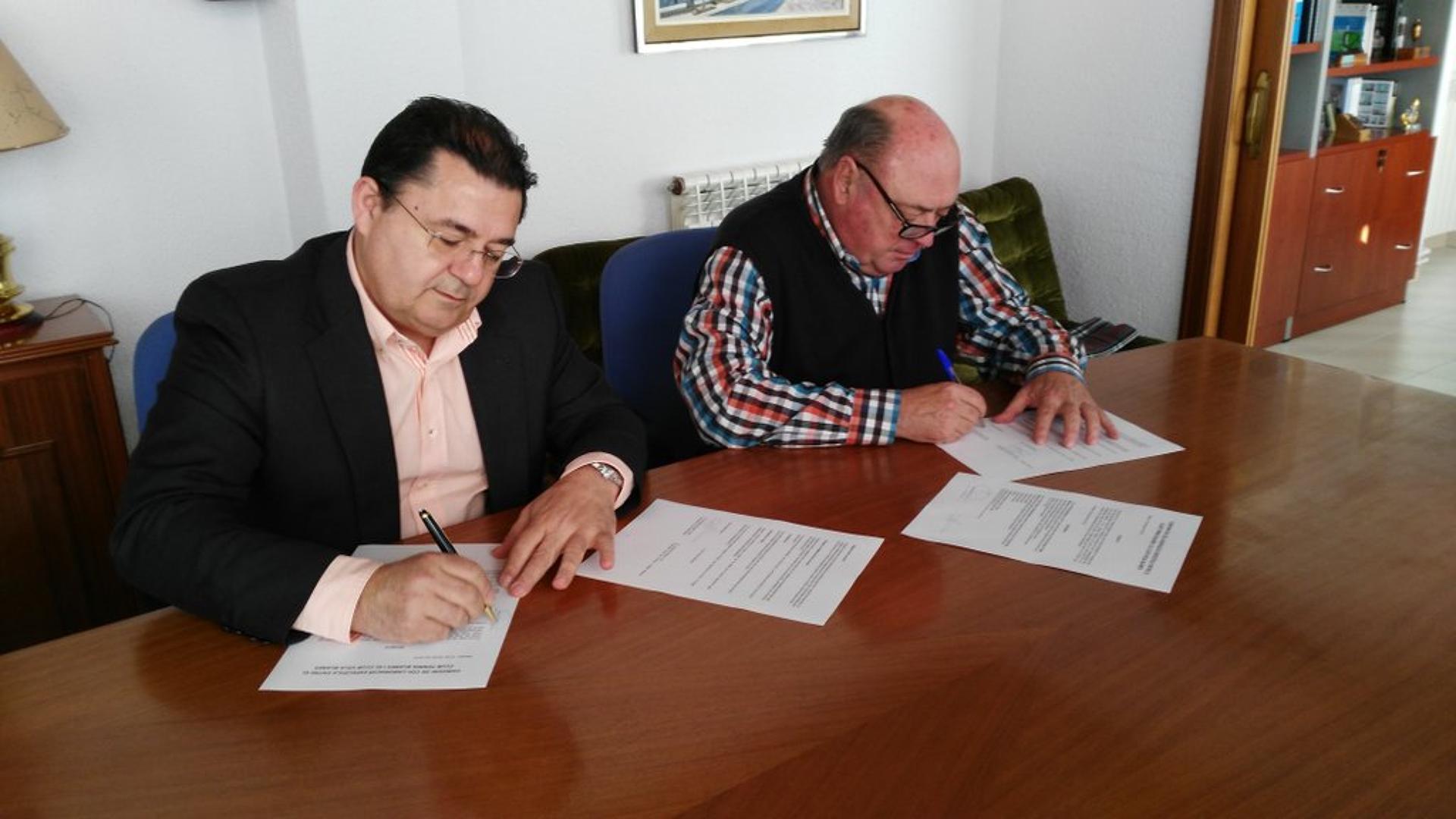 El Club Vela Blanes signa conveni de col·laboració amb el Club Tennis Blanes
