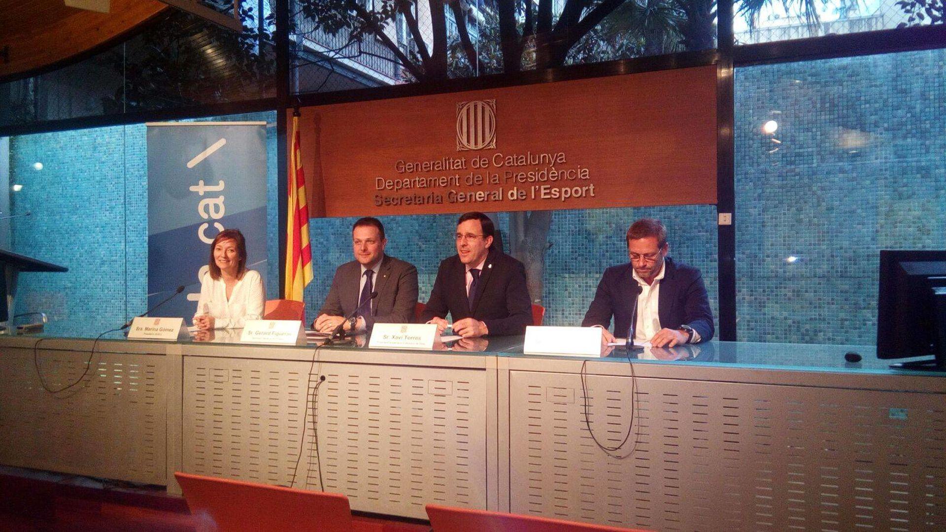 El CVB signa el contracte del Campionat de Catalunya Special que es durà a terme el proper abril