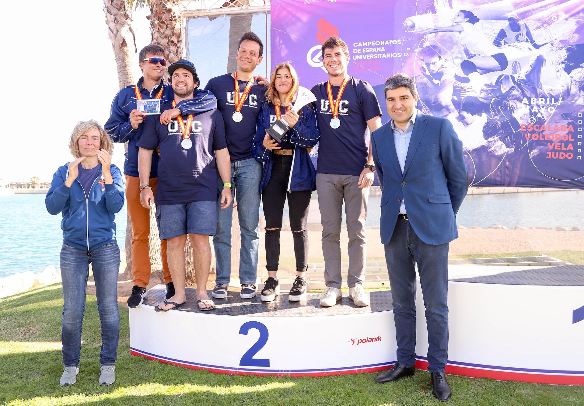 Carlos Ordóñez runner-up of Spain sailing 2019 with the UPC