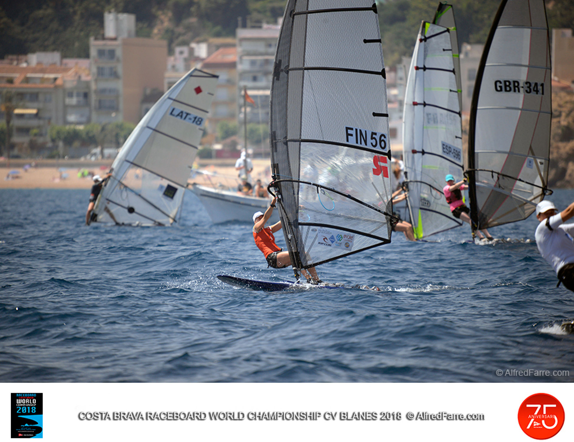 Aleksandra Blinnikka intractable al Mundial de Blanes.