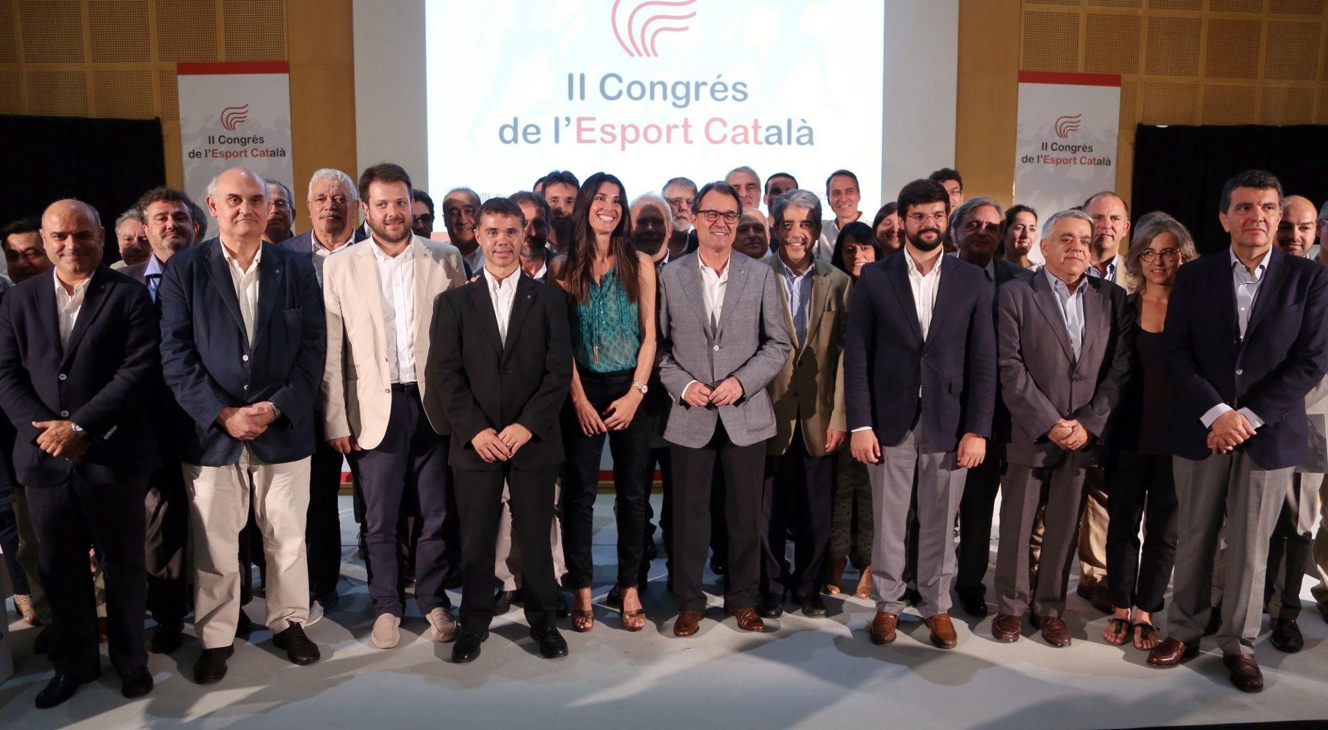 El CVB a la cloenda del II Congrés de l'Esport Català