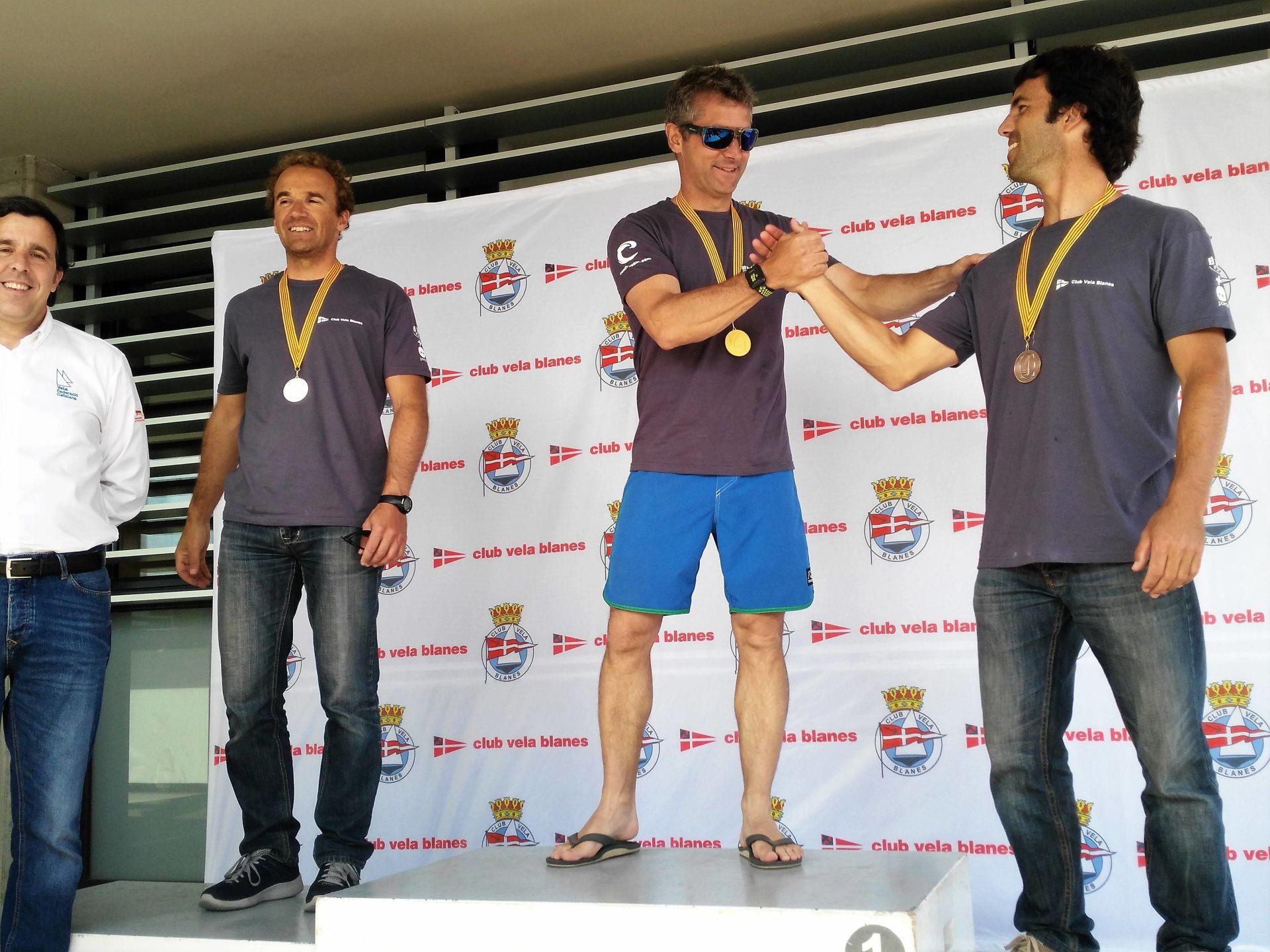 Gonzalo Giribet, del Club Vela Blanes, nou Campió de Catalunya 2017 de Raceboard