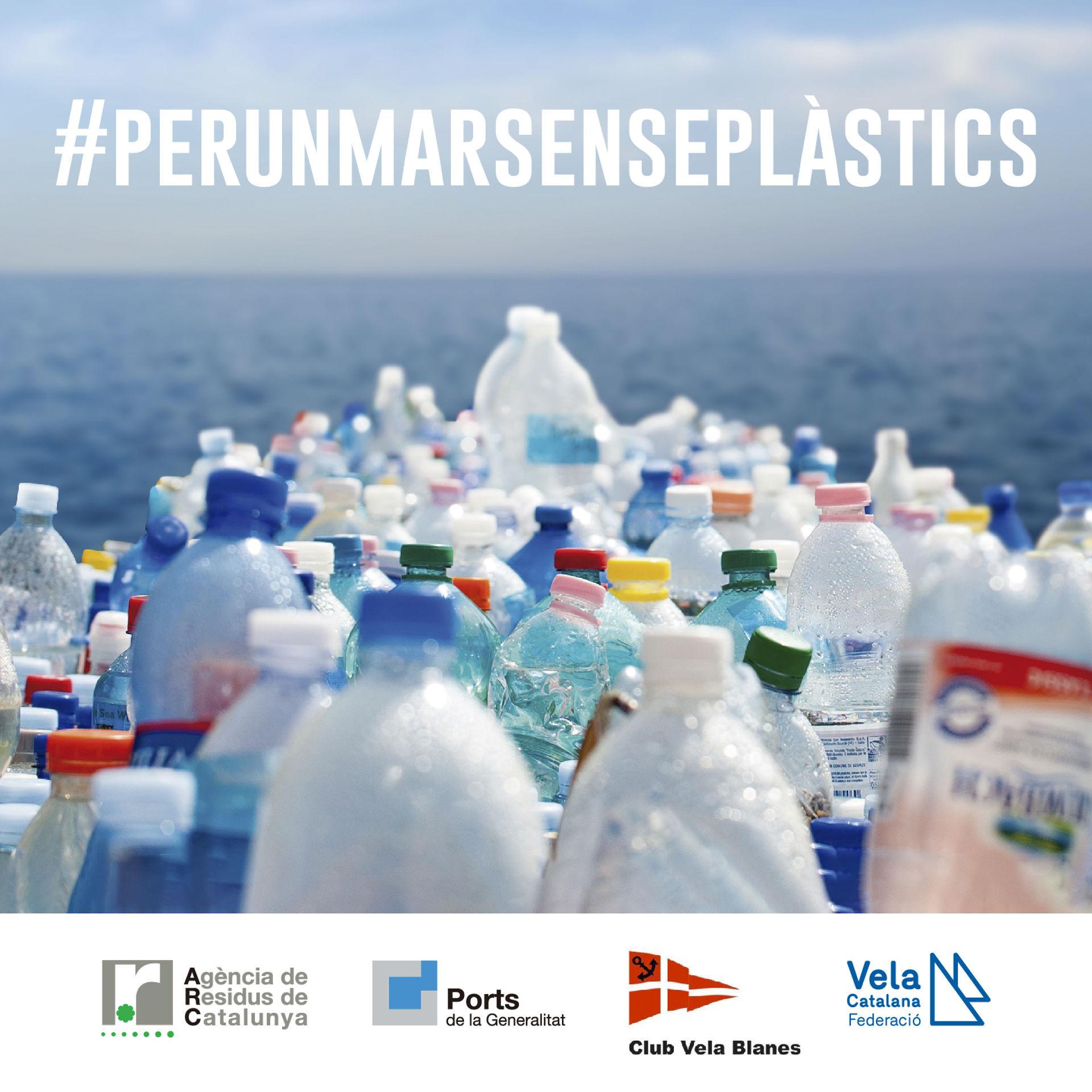 El Club de Vela Blanes s'adhereix a la doble campanya de sostenibilitat, de la FCV i l'ACPET, en la Setmana Europa de Prevenció de Residus.