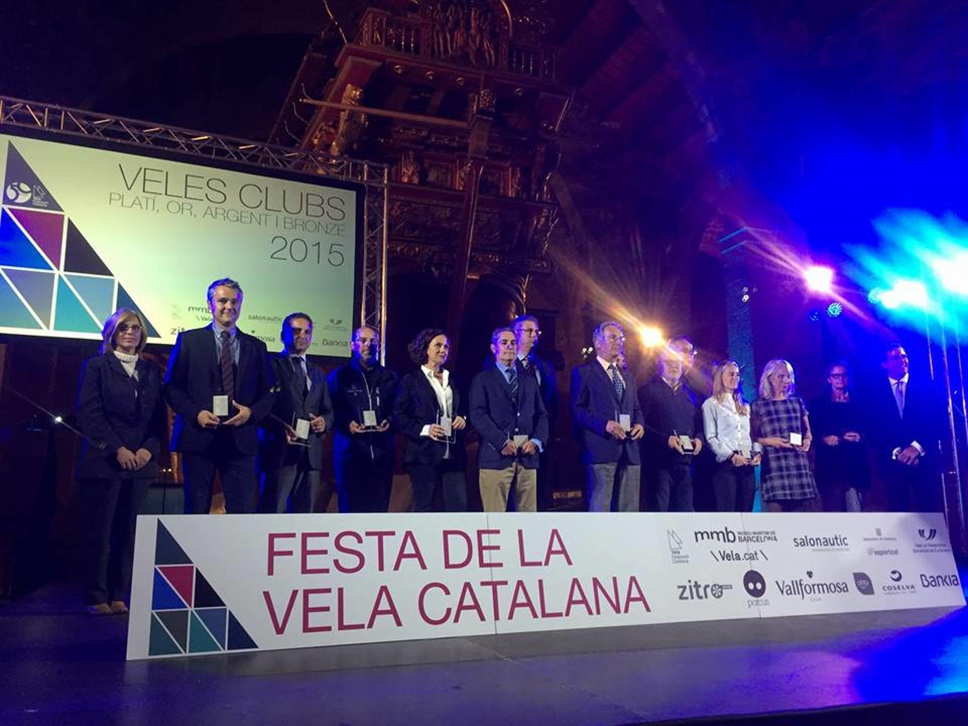 l'Escola de Vela del Club Vela Blanes novament entre les millors escoles de vela de Catalunya.