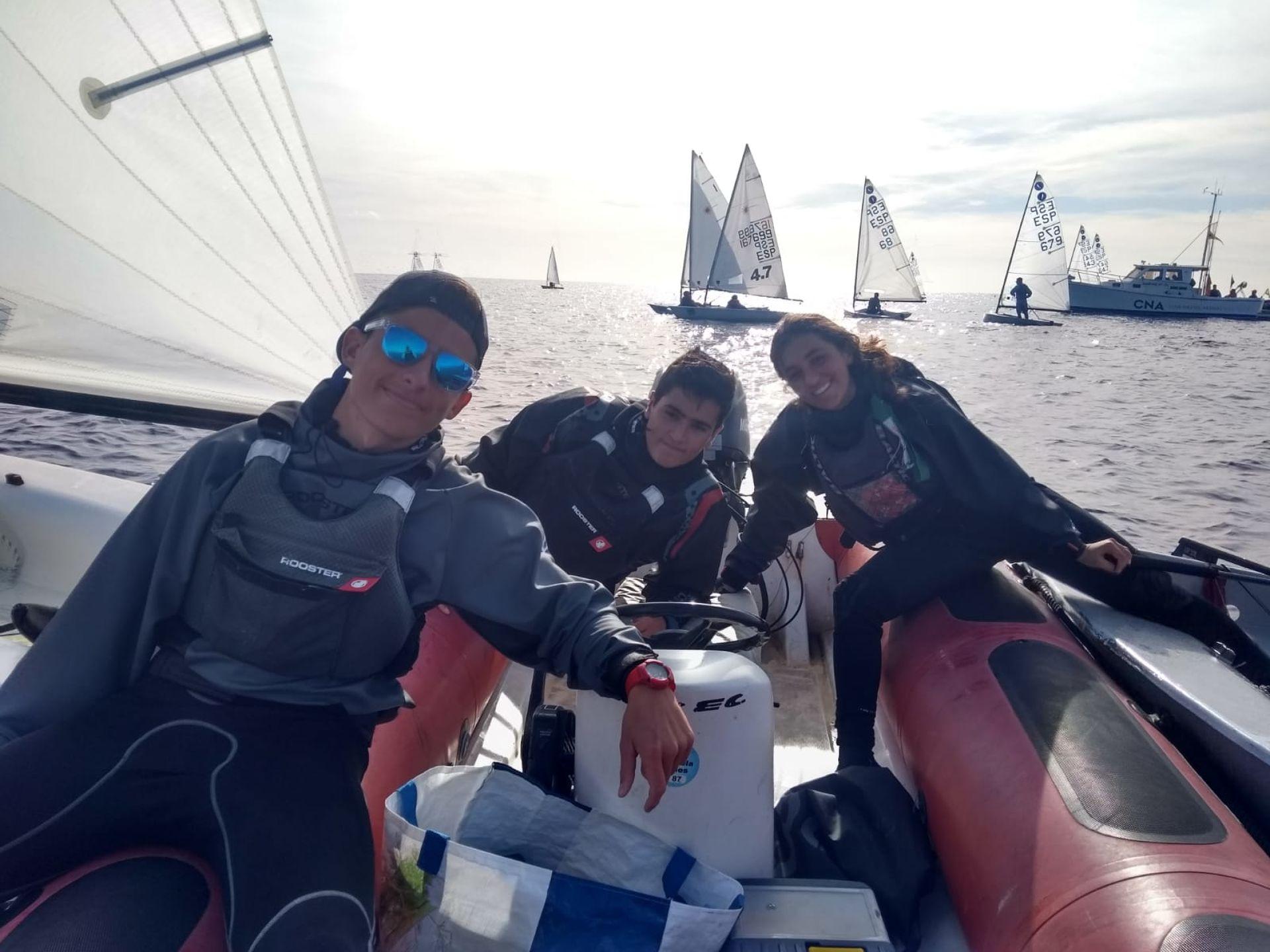 l'expedició blanenca de la classe Europa al 68 Trofeu Ciutat de Palma