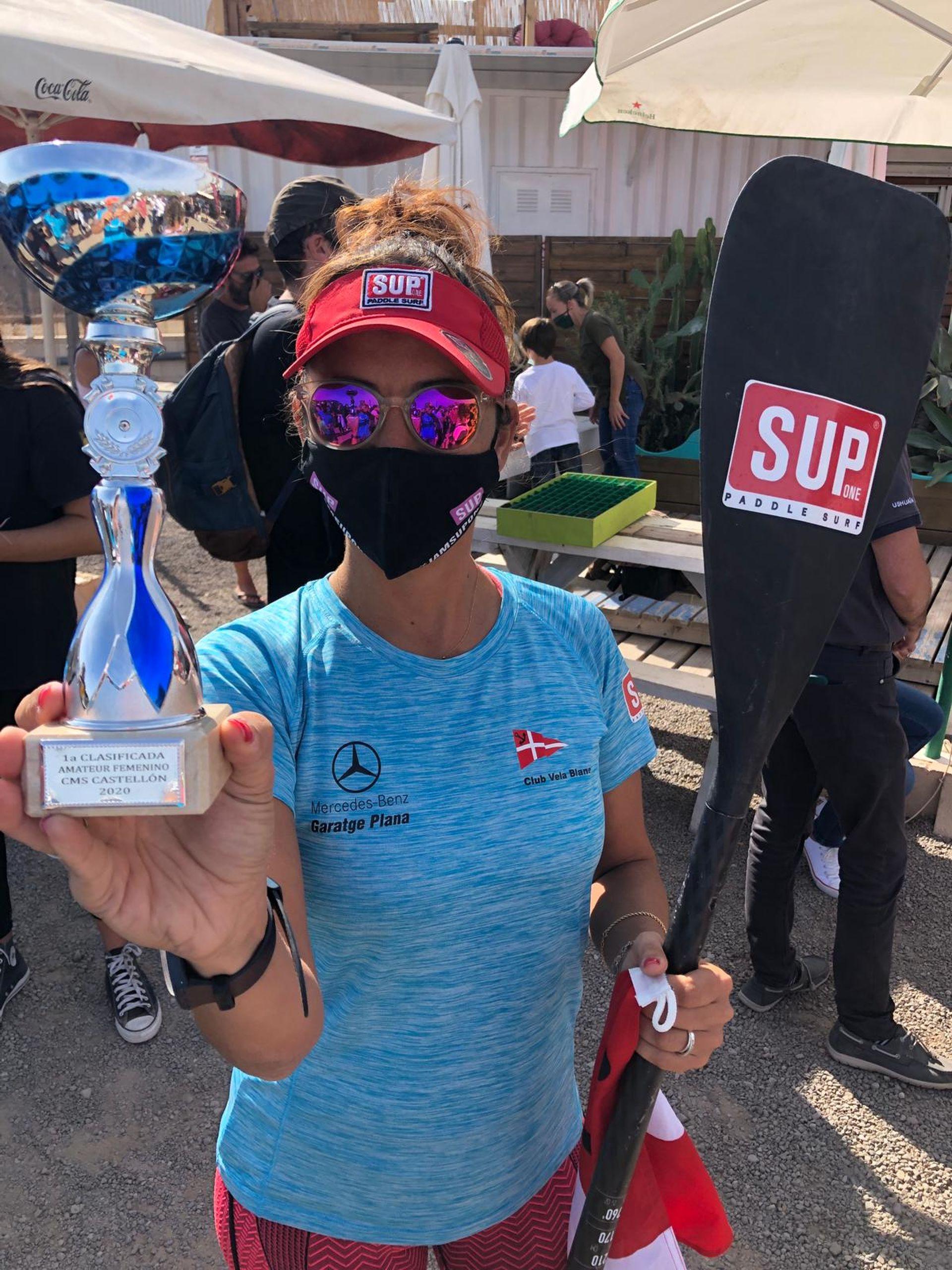 Neus Collado i Xavi Marina podi al III Circuit Provincial Castellón SupRace