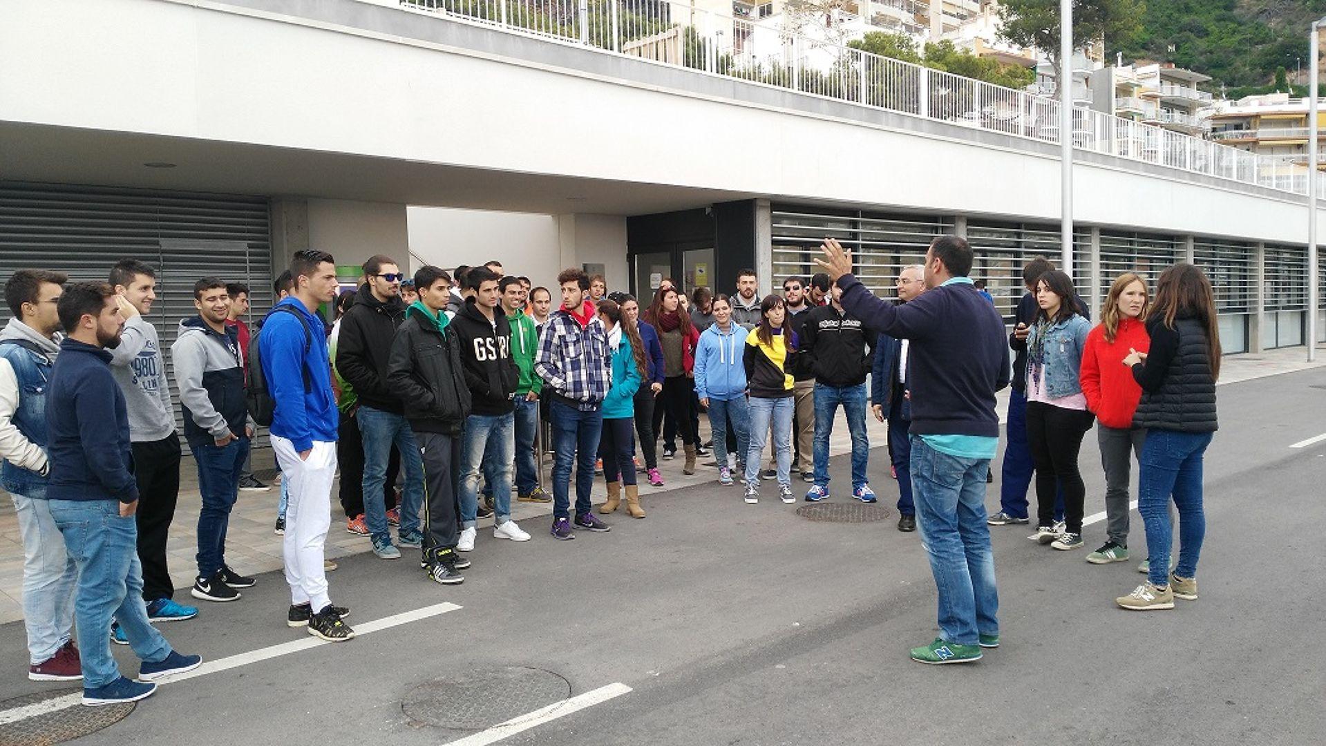 Alumnes del Tecno Campus de Mataró visiten les nostres instal·lacions.