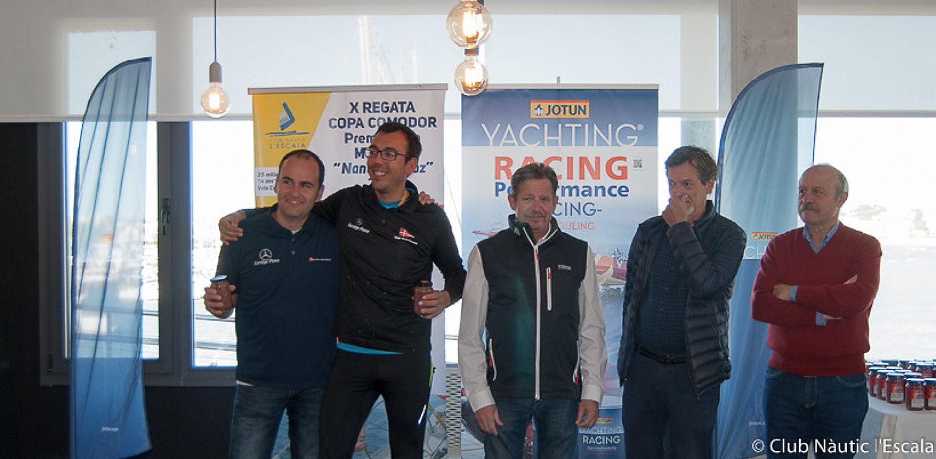 El Tossut Dos 3er a la X Copa Comodor del CN l'Escala