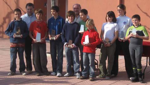 XXXIII Trofeu Vila de Blanes classe optimist