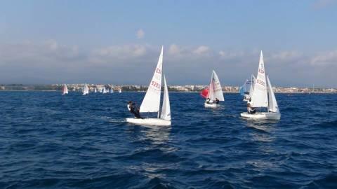 l'Equip de regates de 420 inicia la temporada en aigües de Tarragona