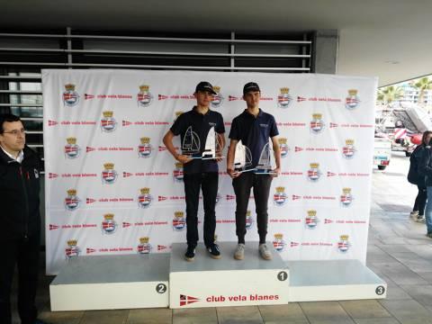 Els germans Parés en 420 guanyen el Trofeu Primavera N-2 de Blanes