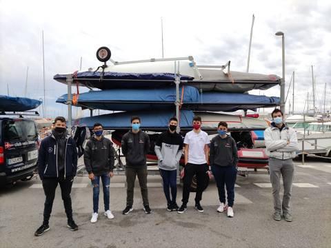 L'Equip de la classe Europa torna a competir al N2 Regata Port Masnou