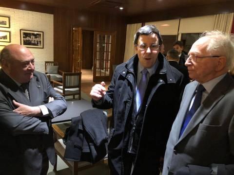 El president del CVB, Amadeu Nualart i Felip, guardonat al sopar de gala de la Nit del Dirigent de l'ACDE (Asociació Catalana de Dirigents Esportius) - 2