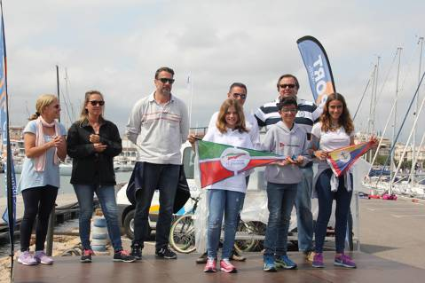 Aleix Manresa Campió de la seva categoria al G2 de la Regata Cambrils a Bon Port