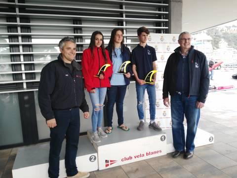 Marc Tusquets del CVB, a la classe Raceboard, Campió del Trofeu Primavera N2 - 7