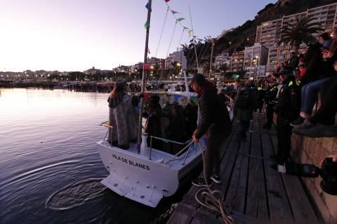 Els Reis d'Orient arriben a Blanes en el vaixell del Club de Vela - 3