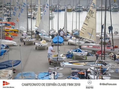 Arranca el Campeonato de España de Finn con el andaluz Pablo Guitián como favorito.