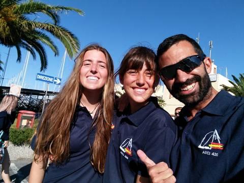 Anna Gimeno e Irene Casañé sumen experiència al Mundial de San Remo.