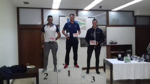Carlos Ordóñez 3er al Campionat Espanya classe Finn a Hondarribia - 3