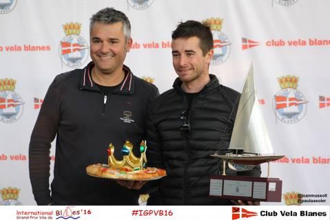 El francès Sylvain Notonier a Europa i la parella de 420, Marta Torner / Enrique Mir, vencedors del Grand Prix