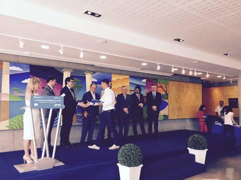 El Club Vela Blanes premiat amb la Bandera Blava.