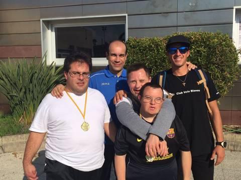 CE El Vilar (Aspronis)-CVB guanyen el Campionat Catalunya Vela Special Olympics a la categoria Unificada 1