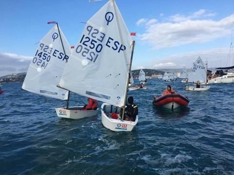 Aleix i Guillem Manresa participen a la Palamós Optimist Trophy-Nations Cup, tot un referent esportiu de nivell mundial