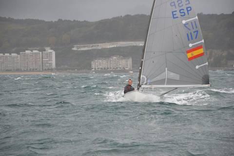 Carlos Ordóñez 3er al Campionat Espanya classe Finn a Hondarribia - 1