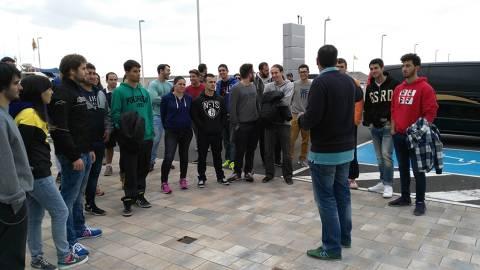 Alumnes del Tecno Campus de Mataró visiten les nostres instal·lacions. - 2