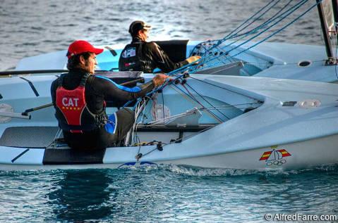 El Club Vela Blanes preparat per al campionat d'Espanya de Europe i Finn