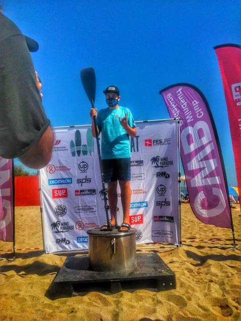 Extraordinària participació de l'equip de paddle surf del Club Vela Blanes al III Trofeu Sup Race Badalona 2020  - 3