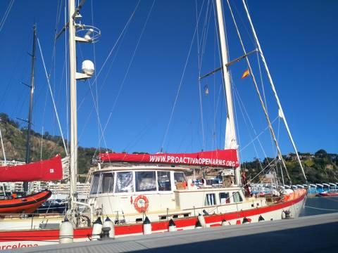 Proactiva Open Arms (ASTRAL) mostra, en el Club de Vela Blanes, la crua realitat humanitària al Mediterrani - 3