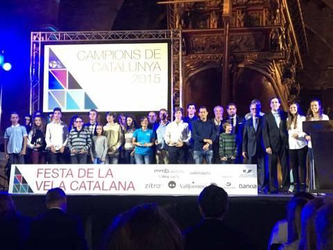 l'Escola de Vela del Club Vela Blanes novament entre les millors escoles de vela de Catalunya. - 2