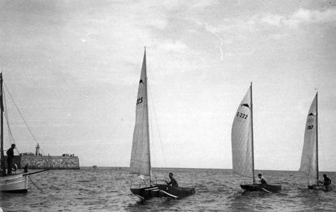 El Club de Vela Blanes va organitzar dues edicions del Campionat d'Espanya de Patins (1951 i 1955)  - 5