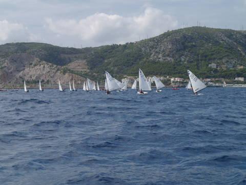 Cinc regatistes de la classe europa participen al XIX Trofeu Vela Tarquina. - 1