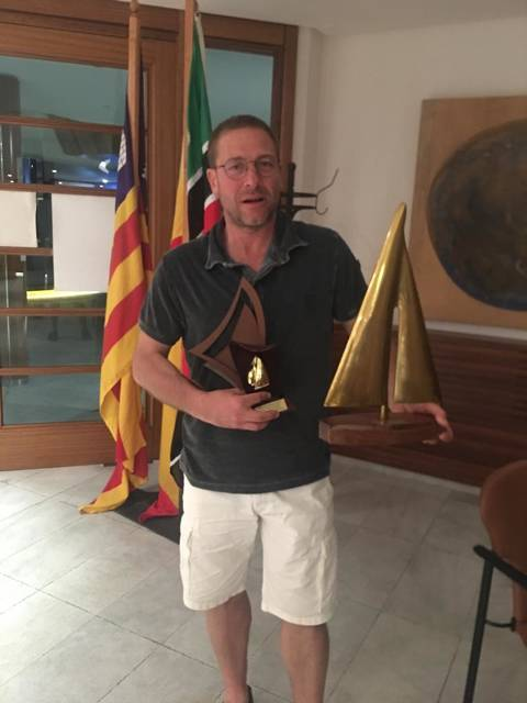 KORRIGAN by Joan Balaguer 1st place in real time and 2nd from group A2 at the Regata Badia de Pollença - 1
