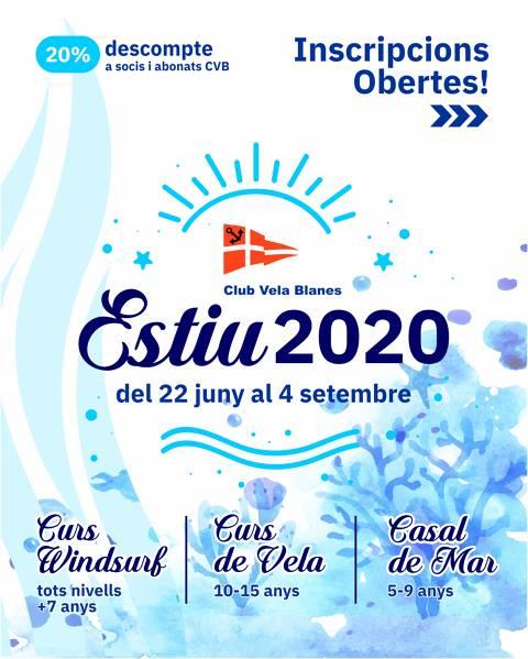 Casal de Mar i cursos de vela i windsurf 2020