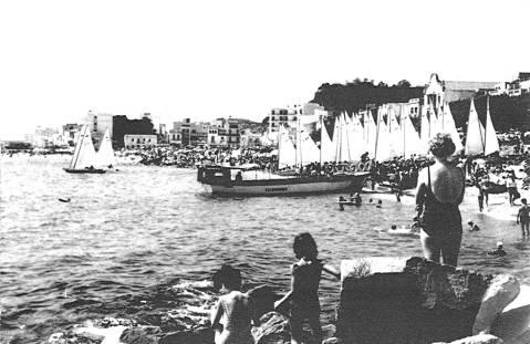 El Club de Vela Blanes va organitzar dues edicions del Campionat d'Espanya de Patins (1951 i 1955)  - 2