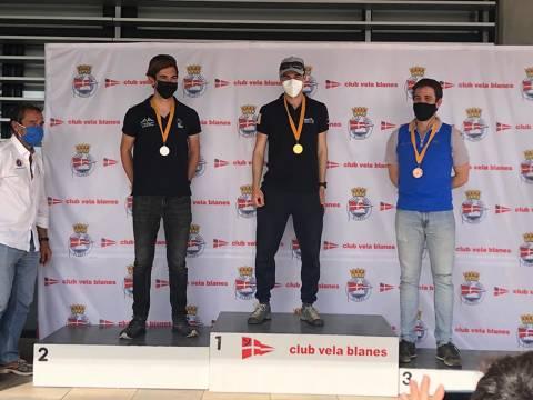 Aleix Subirà 3er masculí al Campionat de Catalunya.