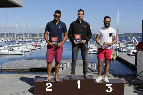 Carlos Ordóñez es proclama Campió d'Espanya Juvenil de la classe Finn a Galícia.