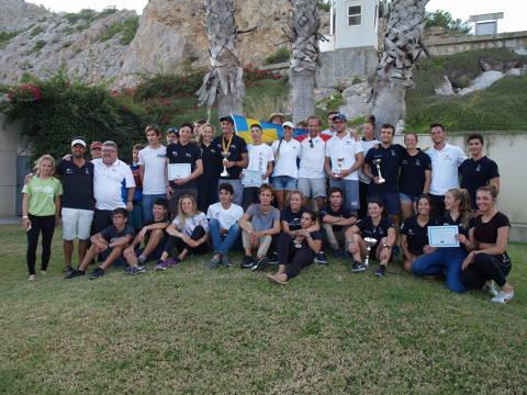 Cinc regatistes de la classe europa participen al XIX Trofeu Vela Tarquina. - 2