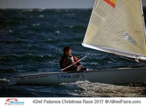 Els Europes i Finn del CVB a la 42ena Christmas Race