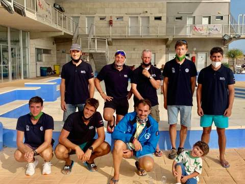 Marc Tusquets primer català al Campionat d'Espanya de Raceboard a Puerto Sherry