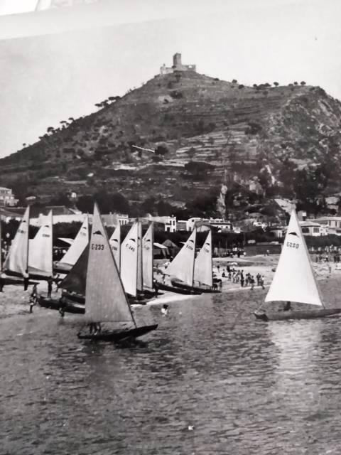 El Club de Vela Blanes va organitzar dues edicions del Campionat d'Espanya de Patins (1951 i 1955)  - 8