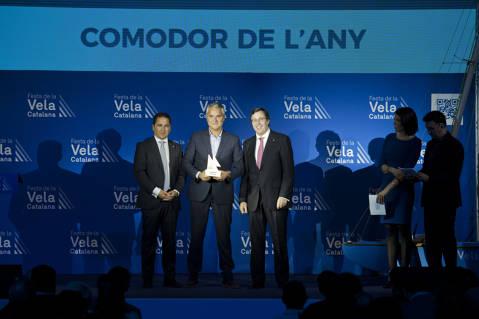 El Club de Vela Blanes acapara premis i distincions a la festa de la vela Catalana