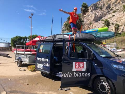 Xavi Marina 3er a la SUP RACE GARRAF 2020 - 4